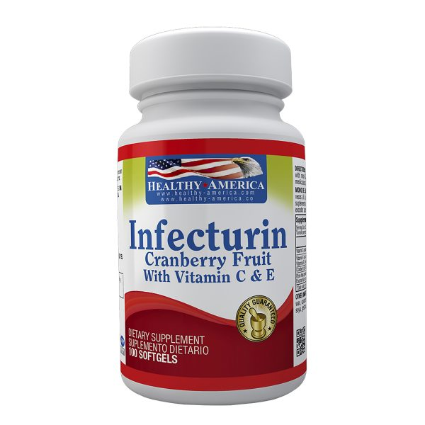 INFECTURIN CRANBERRY FRUIT 100 MG 100 SOFTGELS HEALTHY